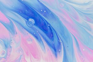 Oil paint blue pink background